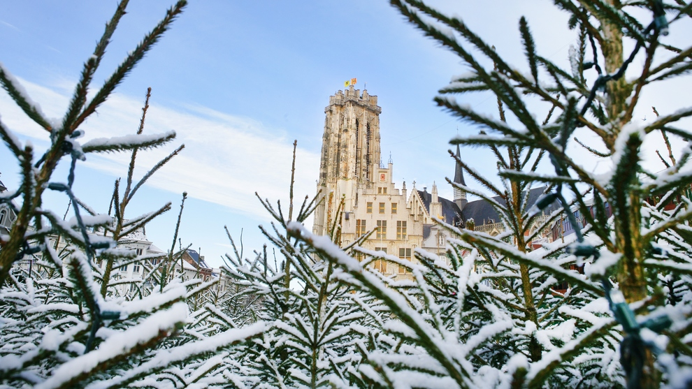 Winter in Mechelen